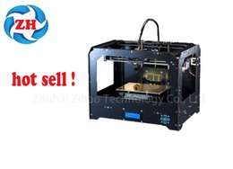 whole sale brand new 3D Printer - Dual Extruder - MK8 - Factory Direct Lowest Price- ABS PLA