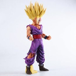 Wholesale 25cm Anime Dragon Ball Z Super Saiyan Son Gohan Action Figures Master Stars Piece Dragonball Figurine Collectible Model Toy