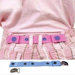 Wholesale Children Trousers Adjustable Waist Belt Clips Kids Pants waistband size Regulator cm