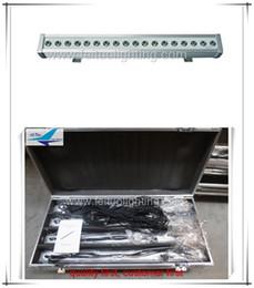 8 pieces lot china market dj lighting wall washer led 18x3w rgb outdoor dmx led light free shipping