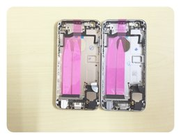 On Sale !!! Full Housing Chassis For iphone 5 5S 6 6g 6s plus housing assembly Back housing battery door metal alloy cover case