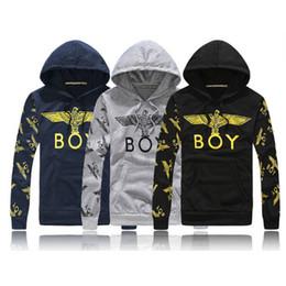 Wholesale New London BOY sweatshirt men women Eagle hip hop casual hoodies brand printed sportswear Hoodies Pants sport suit