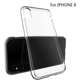 Hot Clear Soft TPU Silicone Case For Iphone 8 Transparent Crystal Phone Skin Cover Shell Housing for Iphone 7 6 Samsung Galaxy S8 plus Note8