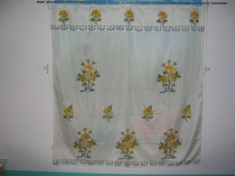 Company produces the bath shade, the green printing, computer embroidery, hand a pint of production process.Material have satin, jacquard sa