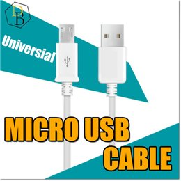 Micro Usb Cable For Samsung V8 Data Sync Charging Cable 1m 3 Feet Wire Charger Chearp Price Universial For Android Cellphone USB Plu