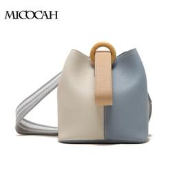 Women Shoulder Bag PU Leather 2 PCS Bucket Bags For Party NCS097