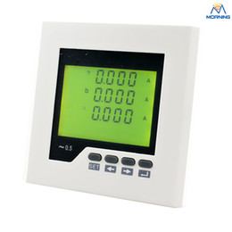 Wholesale ME AA2Y frame size mm factory price three phase lcd display ac digital ampere meter for industrial use