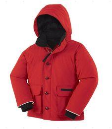 Outdoor children's down boy thermal thickening coat