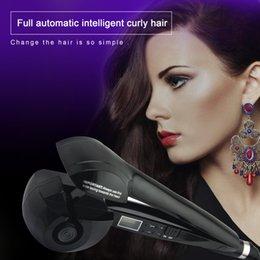 Wholesale Automatic Curling Iron Professional Hair Curler with LCD Display Curtidor de pelo mágico auto Herramientas para estilizar el cabello