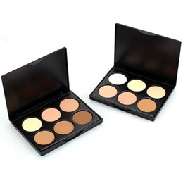 Wholesale Professional Cosmetic Long Lasting enlumineurs Brightener corretivo Face Powder Bronzer Highlighter Makeup Contour Palette