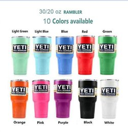 Wholesale 2016 kylie for yeti cups Bilayer Stainless Steel Insulation Cup shiny silver colorful Camouflage Camo oz oz cups