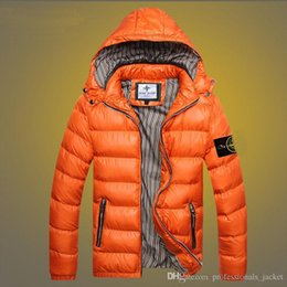 Wholesale 00477 Winter Coat Winter Stone Jacket Men Cotton Brand Clothing Jackets Parkas Mans ISLAND cotton Coats