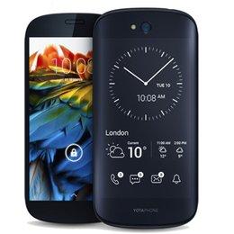 Wholesale International Version YOTA YotaPhone Qualcomm Snapdragon Inch FHD Always on E ink Back Screen G LTE Smartphone