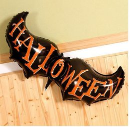 halloween balloon bat holiday supplies decorations festival