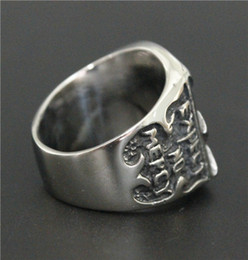 Wholesale For HOSCALE Truckstop MC Club Bandidos Ring L Stainless Steel Jewelry Cool Design Mens Motor Biker Ring