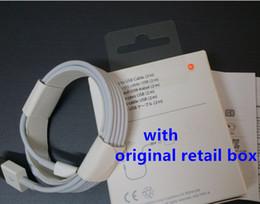 OEM Micro Cable USB Calidad Original 1M 3Ft 2M 6FT Sync Data Cable Cable de carga para el teléfono tipo C Samsung S6 S7 borde con caja de venta al por menor desde cargos cables iphone fabricantes