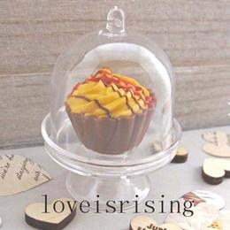 Promotion boîte de petit gâteau de faveur de fête de mariage 20pcs / lot-Lovely mini blanc clair / couleur rose Cupcake stand candy boîtes de mariage favorisent les boîtes pour les fournitures de partie de douche de bébé