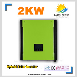Wholesale Promotion Solar Inverter W Grid tied Inverter V to V W MPPT Inverters Pure Sine Wave Hybrid Inverter A AC Charger