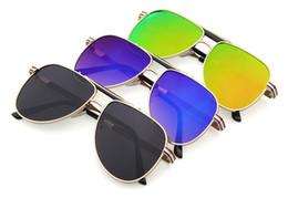 Wholesale Fashion Men Women Frog Sunglasses Unisex American Style Sunglasses Funny UV400 Metal Sunglasses Vintage Retro Driving Eyewear Glasses F479