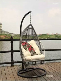 Wholesale Hot selling Paradise swing hanging chair patio weaving with rattan for outdoor or indoor