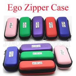 2017 porter coloré Ego Zipper Case Colorful pour cigarette électronique Ego Evod Ce4 Ce5 Mt3 Vape Pen Carry Bag Pouch Cases Starter Kit Ecig Livraison gratuite peu coûteux porter coloré