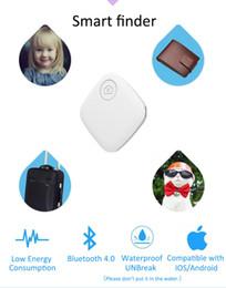Compra Online Dispositivos anti-robo de coches-Hot Mini Bluetooth4.0 GPS Traker localizador de alarma portátil Anti-perdido Key Finder clave del coche de mascotas mini gps personalTracker dos vías dispositivo antirrobo
