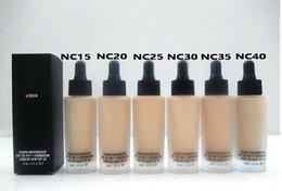 Wholesale hot makeup STUDIO WATERWEIGHT SPF PA FOUNDATION ML