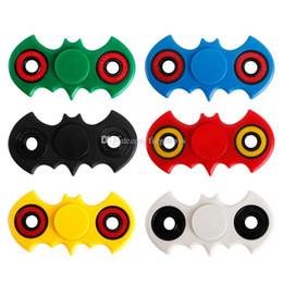 Hottest EDC Hand Spinner Batman Fidget Spinner Fingertip Gyro HandSpinner Decompression Anxiety Finger Toys with Retail Box