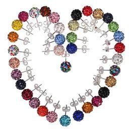 Color cheap Diamond Stud Earrings FZ60