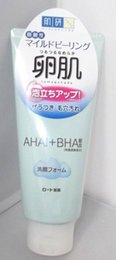 Wholesale Rohto Hadalabo Tamagohada AHA BHA Cleansing Foam g F S JAPAN