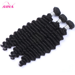 Indian Deep Wave Curly Virgin Hair Weave Bundles Unprocessed Raw Indian Deep Curly Remy Human Hair Extensions Wefts 3Pcs lot Natural Color