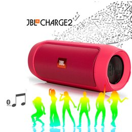 Wholesale DHL JBL Charge2 A Bluetooth Mini Speaker Subwoofer Portable outdoor Waterproof Speakers with Logos upgrade from JBL Charge