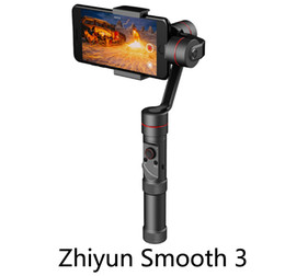Wholesale 2017 Newest Zhiyun Smooth III Smooth Handheld Gimbal Stabilizer for Smartphones Gopro Action cameras Support g