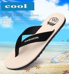 men shoes flat slippers flip flops eva open toe beach summer