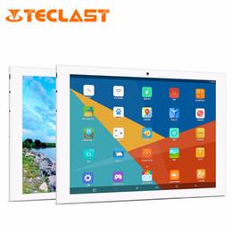 Descuento ips tableta al por mayor Venta al por mayor Teclast T98 4G Phablet 10,1 pulgadas IPS MTK8735 Android 5.1 Teléfono Tablet Quad Core 1 GB / 16 GB de doble cámara 4 G WIFI BT4.0 Tablet PC EU