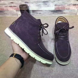 Wholesale Designer Brand Genuine Leather Australia Snow Boots Wool Winter Warm Sneakers High Top Casual Flat Shoes Fashion Men Luxury Sports Shoes