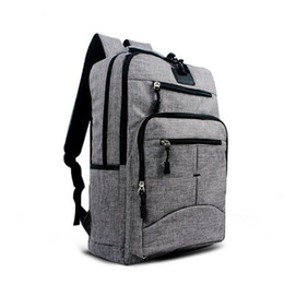 Black Blue Grey Fashion College School Business Sac à dos pour ordinateur portable Dual Shoulder Outdoor Sport Travel Casual Pack Bag à partir de fabricateur