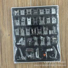 Machine à coudre domestique pied presseur accessoires à coudre multifonctions 32 sortes de sac à main à partir de pied presseur fabricateur