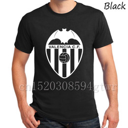 A mano di Alta qualità Spagna Valencia Club Espana Valencia CF Tees T-Shirt Camiseta T Shirt bat reggimento Los Ches Parejo fans