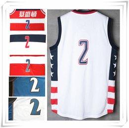 Wholesale 2016 HOT Season Stitched Throwback Retro Men Wizard jersey John Wall Michael jerseys Sport Hot sale Cheap Gift present
