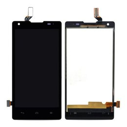 Wholesale origin jacket New inch For Huawei Ascend G700 LCD Display Digitizer Touch Screen Replacement Cell Phone Parts Black Free Tools