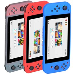 For Nintendo Switch Soft Silicone Rubber Case Cover for Nintendo Switch Controller 6.2 inch 2017 Silicon Rubber Cover