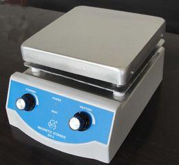 Wholesale 2017 New Laboratory Magnetic Stirrer with Heating x17cm Aluminium Panel RPM L Volume