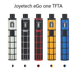 Promotion gros joyetech Vente en gros Joyetech eGo ONE TFTA Kit avec 2300mAh eGo ONE TFTA Batterie 0.6ohm ProCL Head 2ml tank Atomizer Joyetech E-Cig Kit