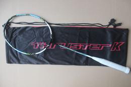 TK9000 badminton rackets high-end nano carbon Thruster K8000 badminton racquet . free shipment