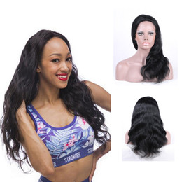 Peruvian Virgin Hair Body Wave Natural Color Full Lace Wigs With baby Hair 100% Unprocessed Human Hair Weave Free Shipping
