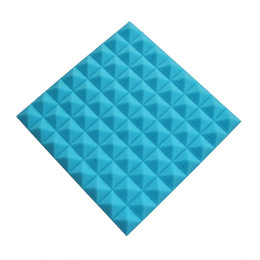 2017 Brand New 5pcs of Baby Blue Fireproof Acoustic Panels Studio Foam Ideal for Studio Room and Sound Insulation
