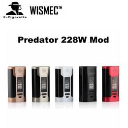 Wholesale Authentic Wismec Predator W Box Mod Battery TC Box Mod Serve As a Power Bank For Other Electronic Devices VS SMOK Alien