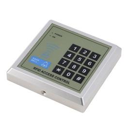 Promotion entrée de la porte de sécurité Système de contrôle d'accès RFID de gros Clé de sécurité de proximité Proximité Sécurité RFID électronique Proximité Porte d'entrée Verrouillage Clavier de contrôle d'accès