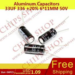 Wholesale Aluminum Capacitors uF mm V nF pF Diameter6mm